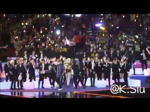 [FANCAM] 171201 2017 MAMA Artists' Reaction to 1/N