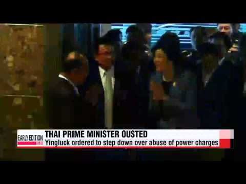 Thai PM Yingluck ordered to step down for abusing power