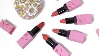 Swatch + Review Son Like M Deep Lipstick - Chạm Vào Em Là Thích Cho Xem | Tiny Loly