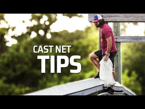 Cast Net Throwing From Bridge Using NO TEETH METHOD