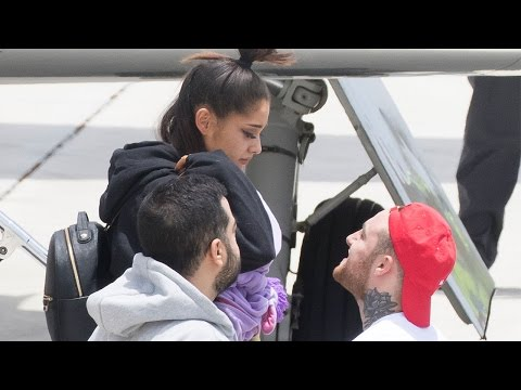 Thumbnail: Ariana Grande Spotted for First Time Since Manchester Attack Singer in Tears With Mac Miller