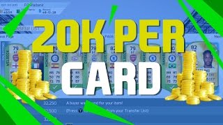 How to Double Your FIFA 16 Coins- 20K PROFIT PER CARD - Investing Guide