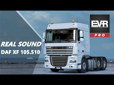 UPDATE 1 5 RELEASED SOUND DAF XF 105 510 ENGINE VOICE