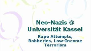 Neo-Nazis @ MA Global Political Economy (GPE), University of Kassel
