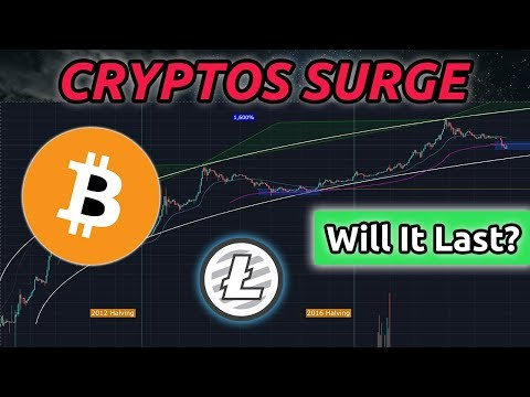 Bitcoin Price Surges - Will It Last? Litecoin Follows (BTC/LTC Analysis)