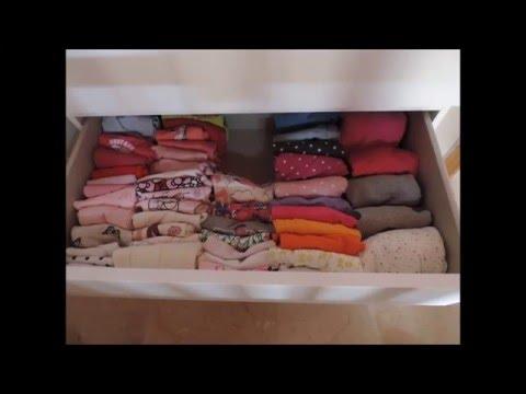 Cmo doblar ropa de beb con el mtodo konmari  YouTube