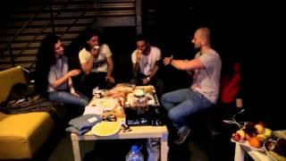 Чаепитие с группой 5'nizza в А2. Бэкстейдж 05.06.2015