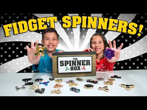FIDGET SPINNER SURPRISE CHALLENGE!!! 25 Rare Spinners Showdown! thumbnail