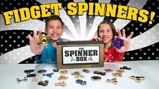 Fidget Spinner Surprise Challenge Rare Spinners Showdown