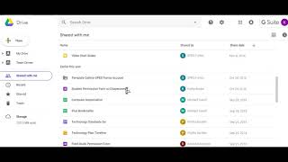 Google Drive Overview--Basics
