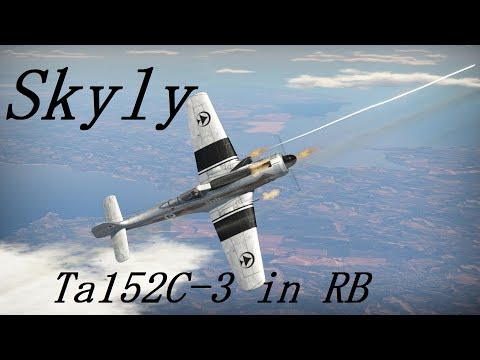 WarThunder - Ta152C with Skyly in RB