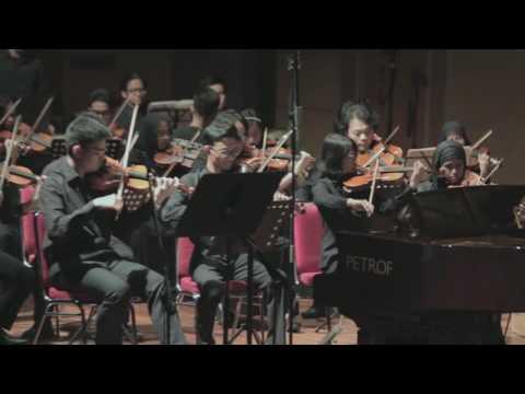 """Overtur Opera La princesse Jaune""  by concordia Jakarta"