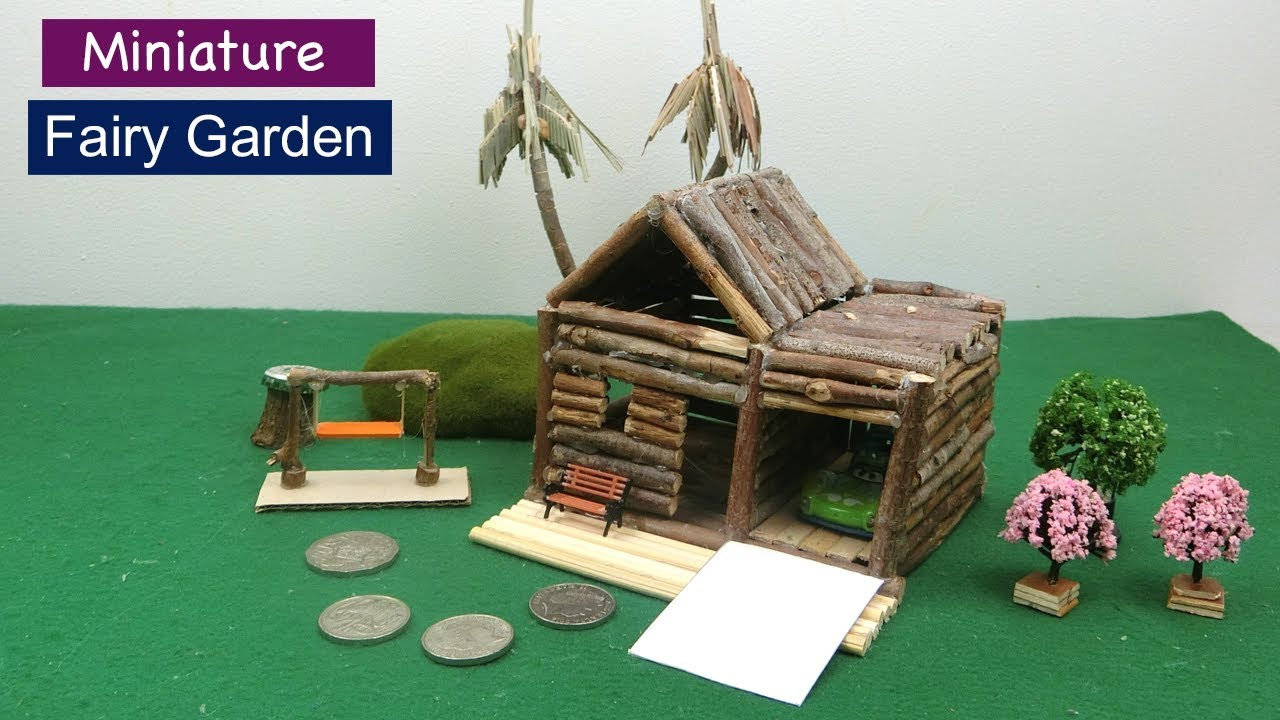 Diy Fairy Garden 18 How To Make Wooden Fairy House Easy Craft