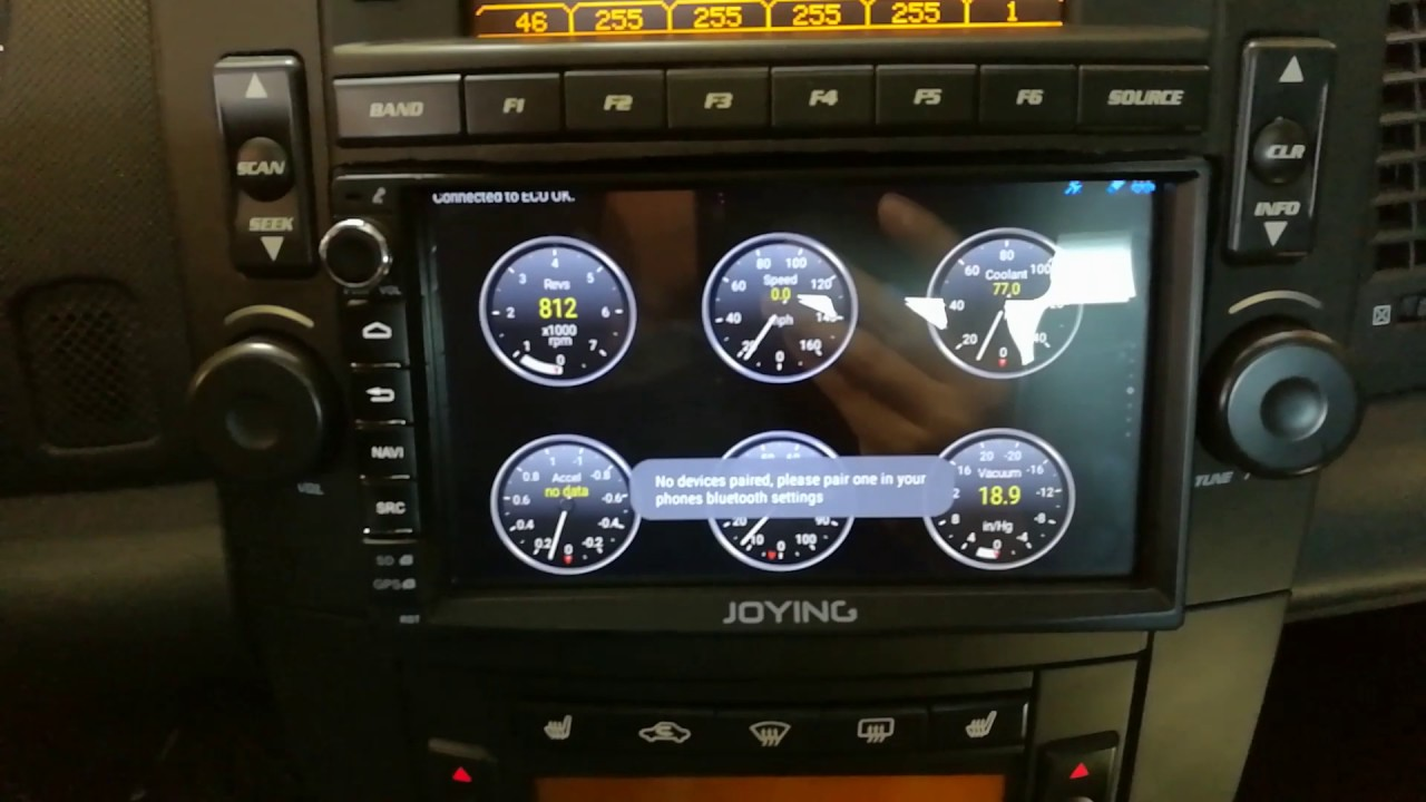 Android Joying Double Din Head Unit Installed On 2007