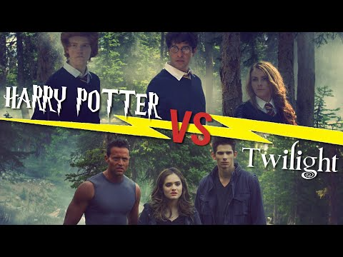 HARRY POTTER vs TWILIGHT DANCE BATTLE! // ScottDW
