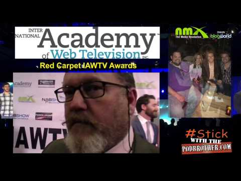 NAB 2015 PodBrother Show #13 Interview on the Red Carpet Mark Gray