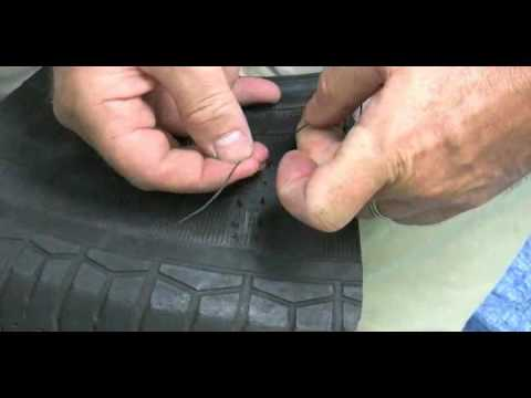 Emergency Tire Repair >> Emergency Tire repair: Sidewall repair - YouTube
