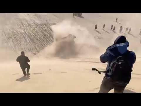El tremendo vuelco de Fernando Alonso en el Dakar