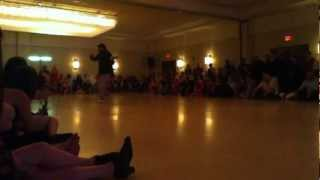 Dana Frigoli and Adrian Ferreyraat Chicago Tango Week 2012, Friday night Milonga, performance 1