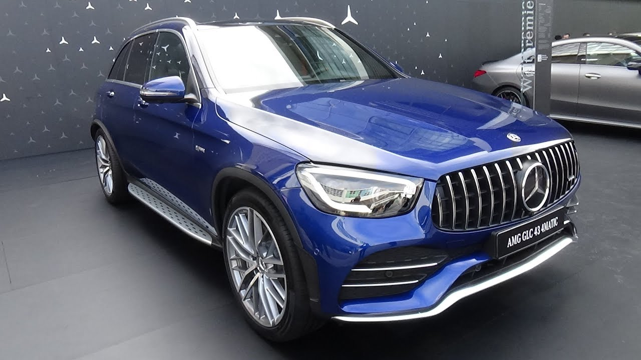 2020 Mercedes Amg Glc 43 4matic Exterior And Interior Iaa