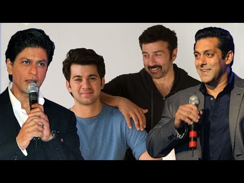 Thumbnail: Salman Khan & Shahrukh Khan Welcome Sunny Deol's Son Karan Deol To The Film Industry