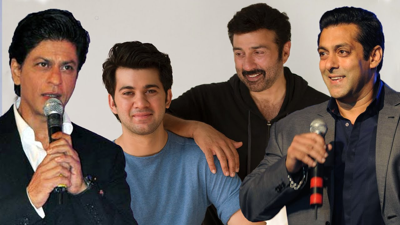 Salman Khan & Shahrukh Khan Welcome Sunny Deol's Son Karan ...