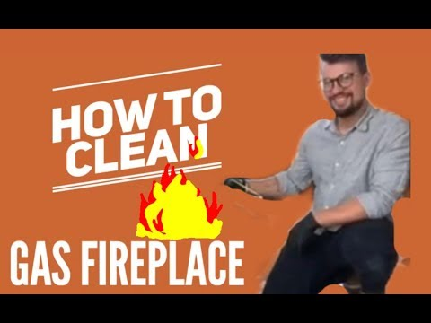 How To Clean A Gas Log Fireplace