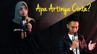 APA ARTINYA CINTA - Melly Goeslaw Ft Ari Lasso - Fauzandwitjahja & Putri Mutiara COVER