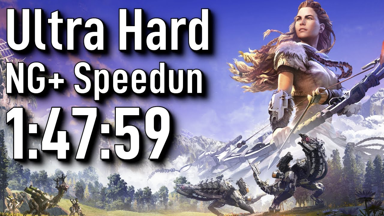 Horizon Zero Dawn Speedrun: NG+ Ultra Hard in 1:47:59 - World Record thumbnail