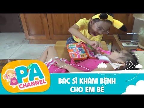 Trò chơi bé tập làm bác sĩ nha khoa khám răng cho em bé Mai Hương