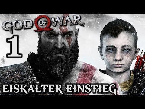 God of War 4 Gameplay German #1 ► Ein eiskalter Einstieg ◄ | PS4 | Let's Play Deutsch 2018