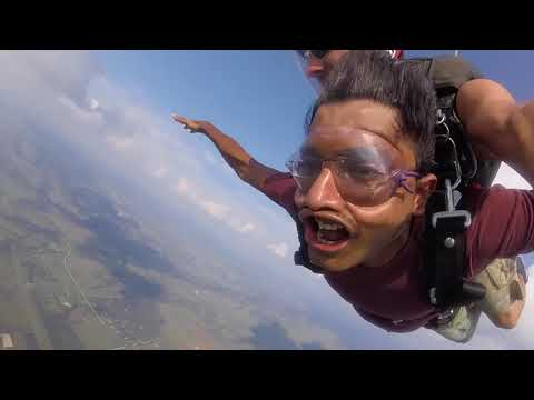 Tandem Skydive | Bharat from Fort Worth, TX