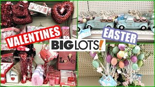 BIG LOTS VALENTINE'S DAY DECOR and EASTER DECOR 2021 SNEAK PEEK SHOP WITH ME!