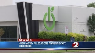 Hush money allegations against ECOT