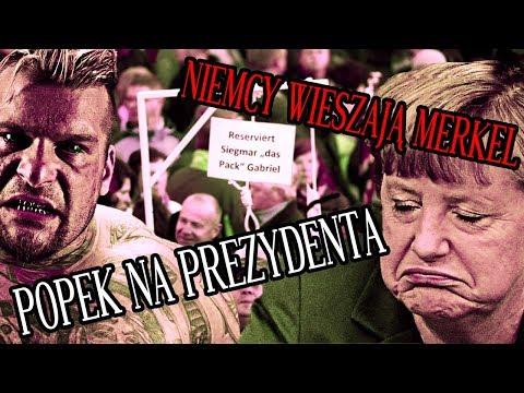 Niemcy Chcą POWIESIĆ Merkel a Popek Zostanie POSŁEM!   Top News #13