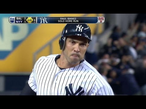BAL@NYY Gm3: Ibanez hits game-tying homer in ninth