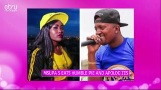 Msupa S Eats Humble Pie & Apologies To Mzazi Willy Mtuva