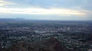 Top of the world, or at least Camelback Mountain!