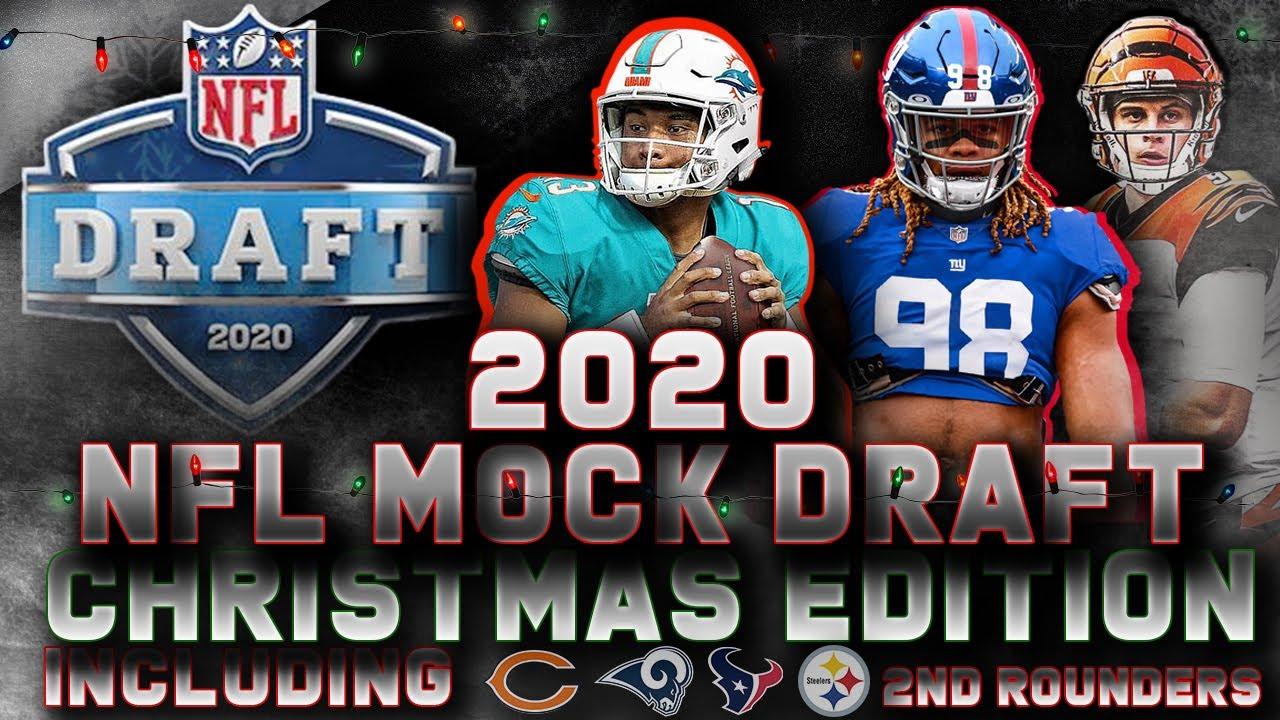 Nfl Christmas 2020 2020 NFL Mock Draft: Christmas Edition 🎅🎄🎁   YouTube