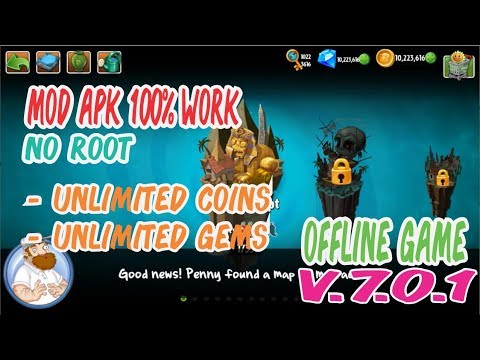 Download Game Offline Android Plants Vs Zombies 2 Mod Apk Data Youtube