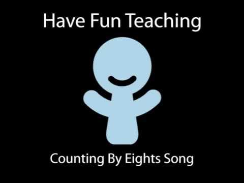 Counting By Eights Song In Backwards (Have Fun Teaching)