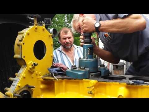 #3. Капитальный ремонт двигателя, Катерпиллер 3406Е / С15. Caterpillar 3406E / C15 Inframe Overhaul.