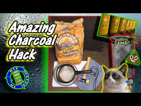 Amazing Charcoal Hacks - Fix Odor & Moisture Problems