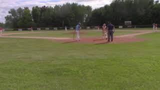 Esko Sr. Legion baseball at Aitkin 6.17.2019
