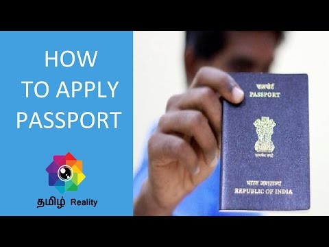 How To Apply For Passport Online In India  - Tamil