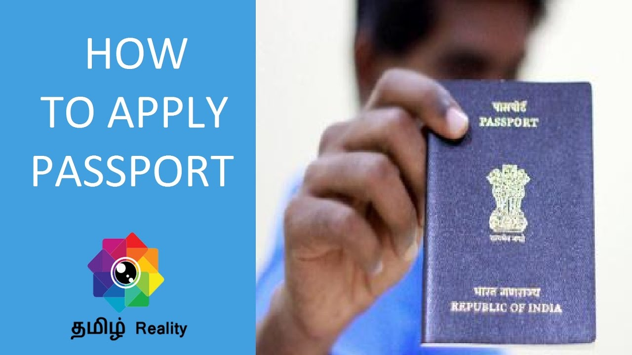 How To Apply For Passport Online In India  Tamil