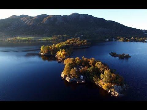 Autumn islands 4k / DJI P3P / Storavatnet /Sandnes / Norway
