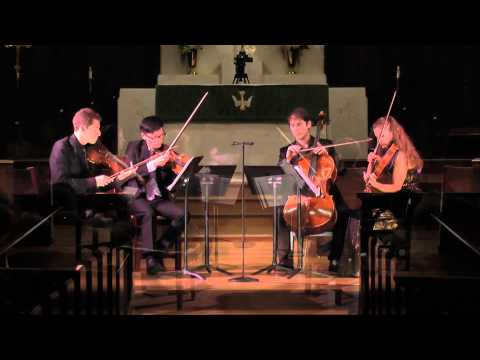 Artosphere 2013: The Dover Quartet - SHOSTAKOVICH String Quartet No. 3 in F Major, Op 73