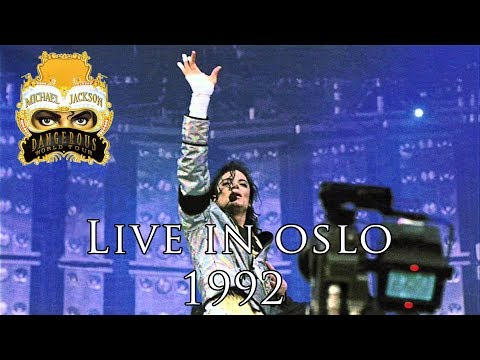 Michael Jackson Dangerous World Tour 1992 Oslo Full Concert