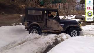 Mahindra Thar | Snowheeling | Snow Off-Road | Jeep | Snowdrive